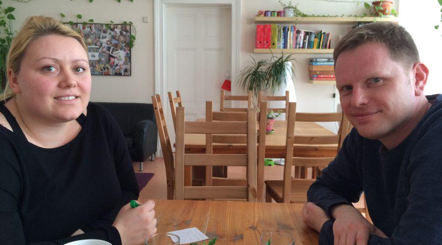 Informationsgespräch im Frauentreff OLGA